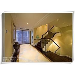 不锈钢玻璃楼梯扶手|潜江玻璃楼梯扶手|武汉亚誉艺术楼梯图片