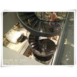 仙桃玻璃楼梯扶手_武汉亚誉艺术楼梯_实木玻璃楼梯扶手图片