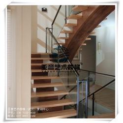 双梁家用钢木楼梯、天门家用钢木楼梯、武汉亚誉艺术楼梯图片