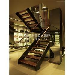 通山玻璃楼梯|武汉亚誉艺术楼梯|办公室玻璃楼梯图片