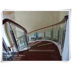 安陆楼梯扶手|不锈钢楼梯扶手|武汉亚誉艺术楼梯(优质商家)图片