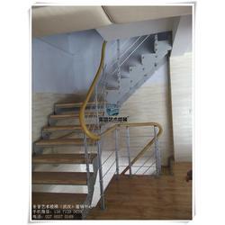 钢木楼梯栏杆 荆州钢木楼梯 钢木楼梯踏板图片