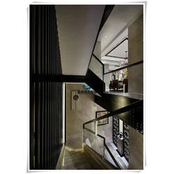 别墅玻璃楼梯扶手-武汉玻璃楼梯扶手厂家-蔡甸玻璃楼梯扶手图片