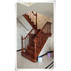 实木楼梯扶手栏杆安装、应城楼梯扶手栏杆、武汉亚誉艺术楼梯图片