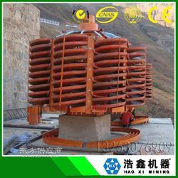 金矿重选设备 砂金溜槽 洗铜砂螺旋溜槽 BLL-2000选煤重选溜槽图片