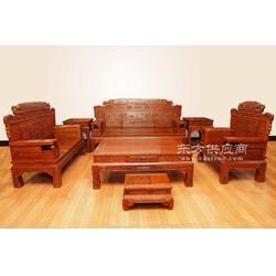 红酸枝红木家具 老挝大红酸枝家具图片