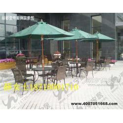 户外咖啡厅休闲桌椅图片