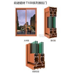平开门铝型材-95铝合金推拉门型材厂家图片