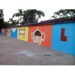 正艺(图),幼儿园学校墙面喷画,汕头幼儿园学校喷画图片