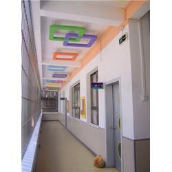 正艺(图),幼儿园学校墙面喷画,幼儿园学校喷画图片