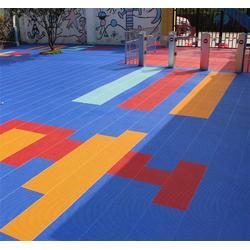 悬浮式拼装运动地板、正艺(在线咨询)、悬浮式地板图片