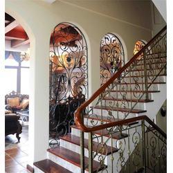 室内铁艺楼梯,靓景铁艺(在线咨询),楼梯图片