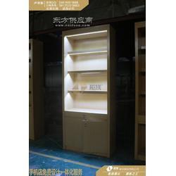 木纹小米数码配件展示柜闪亮首发-定做2018版展示柜新款图片