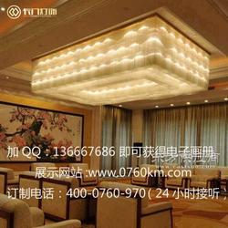 中国酒店灯饰品牌厂家酒店大堂吸顶灯图片
