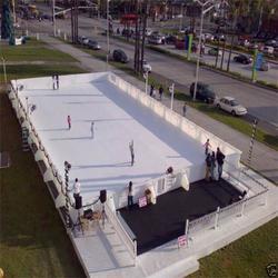 """""""冰场""""不是只有冬天才有吗?让金航仿真冰厂告诉你图片"""
