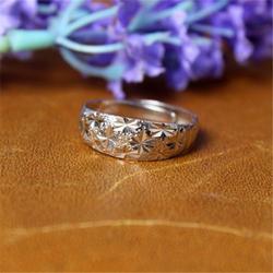 泰银女士戒指品牌、鑫磊银饰、泰银女士戒指图片