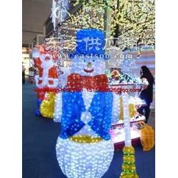 雪人LED 3D立体滴塑造型灯LED圣诞造型灯LED广告灯图片