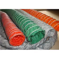 硅胶耐高温通风管,帆布伸缩风管选兴盛,芦台耐高温通风管图片