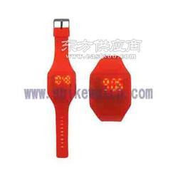 2014年新款时尚个性超薄led电子手表颜色多样图片