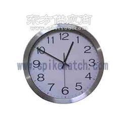 新款精巧简约室内挂钟可按客人要求定制图片