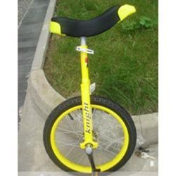 20寸/骑士独轮车白色-发现者/儿童单轮车图片