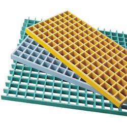 鸿宇复合材料(图)、玻璃钢格栅原料、玻璃钢格栅图片