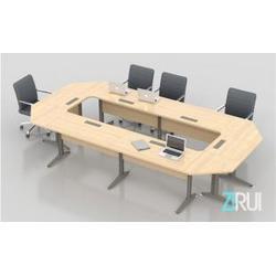 高州实木会议桌、实木 会议桌生产厂家、中瑞办公设备图片