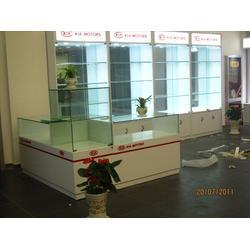 西安隆达展柜、商洛钛合金展柜、钛合金展柜制作图片