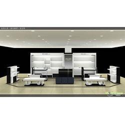 西安隆达展柜、咸阳烤漆展柜、烤漆展柜安装图片