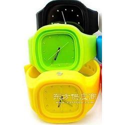 果冻硅胶手表_学生硅胶手表_促销礼品硅胶表_丹士顿图片