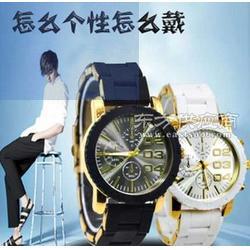 超薄绅士男士商务机械手表防水石英高档品质手表图片