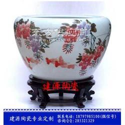 陶瓷青花大缸零售图片