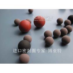 进口FKM氟胶橡胶球图片