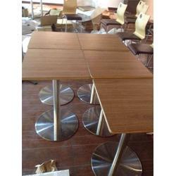 餐厅桌子定制、华艺新座标家具厂(在线咨询)、餐厅桌子图片