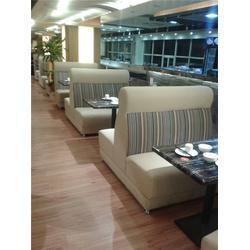 西餐厅沙发椅 华艺新座标家具厂 潮州餐厅沙发图片