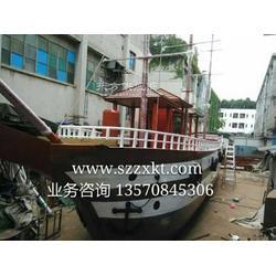 游玩型景观船 原创船厂-木船设计 定制厂家图片