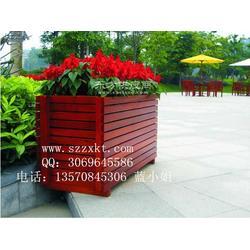 实木花箱环保花盆花盆图片