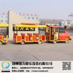 无轨道火车报价-强力游乐(在线咨询)无轨道火车图片