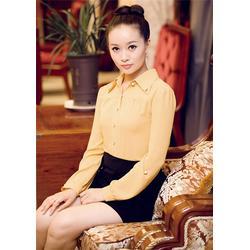 潍坊职业装连衣裙,玛迪蓝服饰职业装,职业装图片