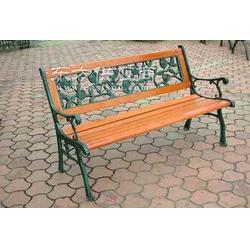 铁木组合靠背园林椅ZH-Y2015图片