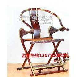 红木仿明清交椅丨红木折叠椅图片