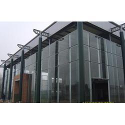 玻璃隔断门 宜春玻璃隔断 汇投钢化厂(查看)图片