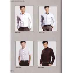条纹衬衫定做_衬衫_企业衬衫定做图片