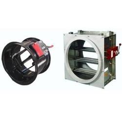 全自动排烟圆形防火阀,际广空调(在线咨询),圆形防火阀图片