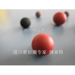 进口实心球橡胶密封球图片