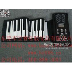 博锐手卷钢琴折叠式手卷电子琴礼品厂家供应图片