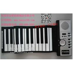 博锐品牌手卷钢琴手卷电子琴厂家电钢琴图片