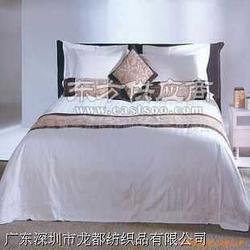 旅馆用品四件套被单/被子/床单床笠生产厂家图片