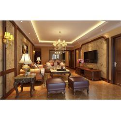 家庭别墅装潢、别墅装潢、才易装饰一站式装修服务平台图片