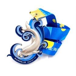 海洋馆周年纪念牌定做 创意设计卡通挂脖奖牌图片